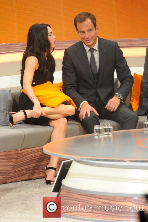 Megan Fox   German ZDF Live TV show  Wetten  dass       40 Pictures     Megan Fox and Will Arnett 1