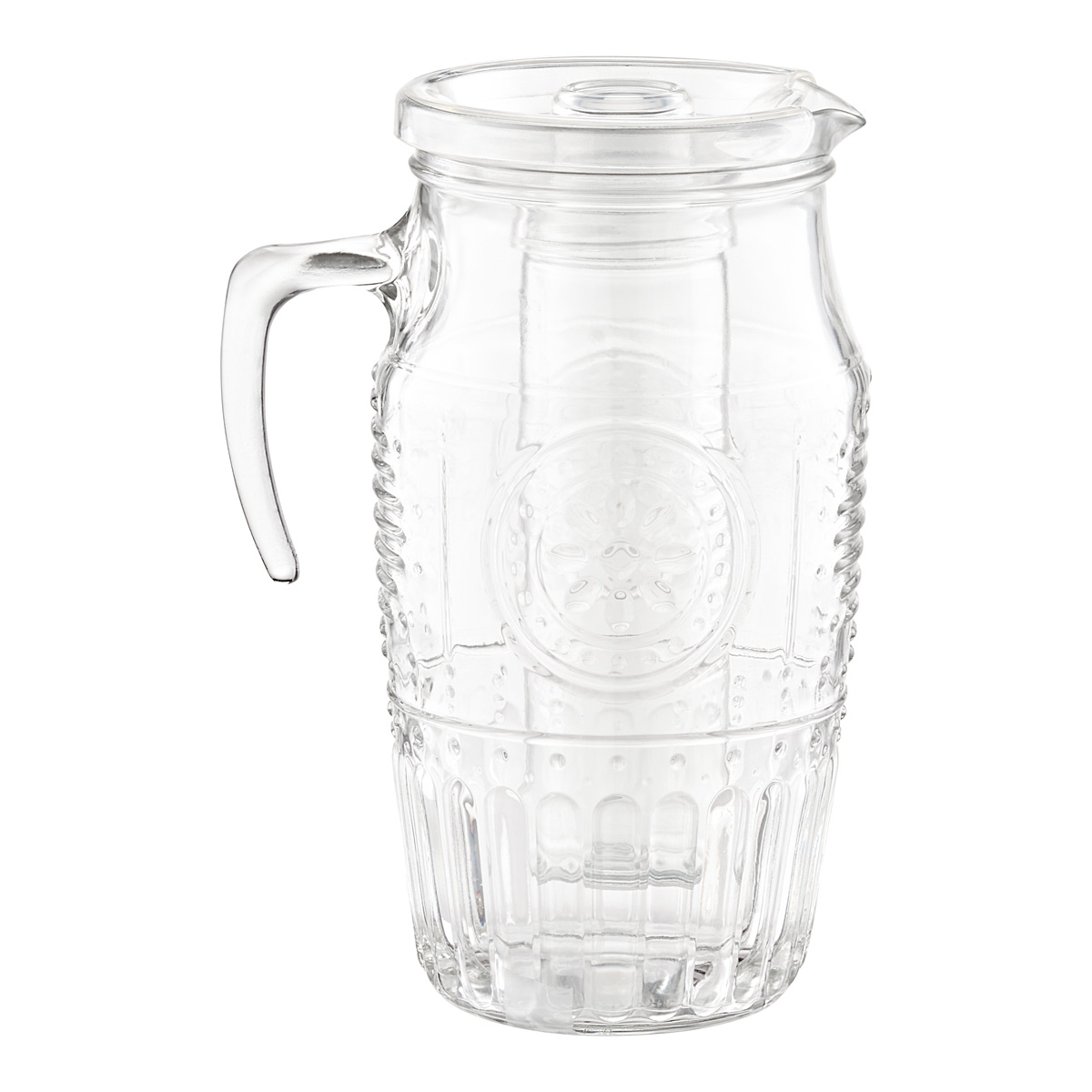 Divine Romantic Glass Carafe Lid 64 Oz Lid Singapore Glass Pitcher Lid Container Store Glass Pitcher Lid Container Store Romantic Glass Carafe houzz 01 Glass Pitcher With Lid