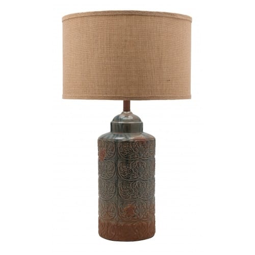 Ahamer Aged Old Table Lamp