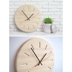 Small Crop Of Unique Wooden Wall Clocks