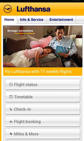 lufthansa for mobile, CMI