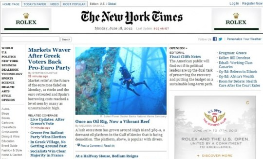 new york times for desktop, CMI