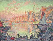 Paul Signac's The Port Of St. Tropez