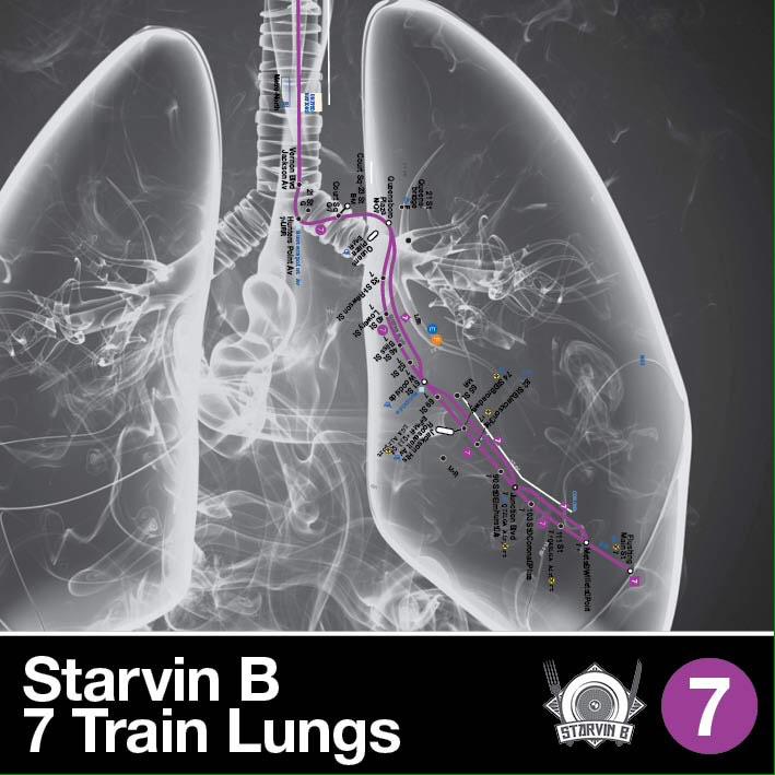 Starvin B 7 Train Lungs LRG