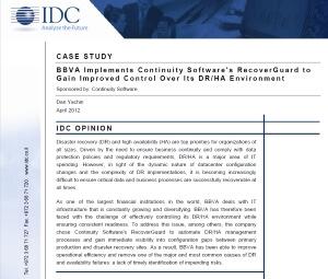 IDC case study