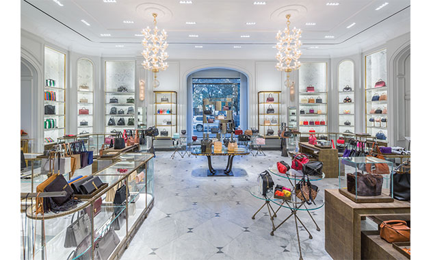 Interiors Awards 2018  Retail   Contract Design The firm MNA referenced Bergdorf Goodman s history as inspiration for a  renovation and redesign of the store s ground floor spaces  which are  distinguished