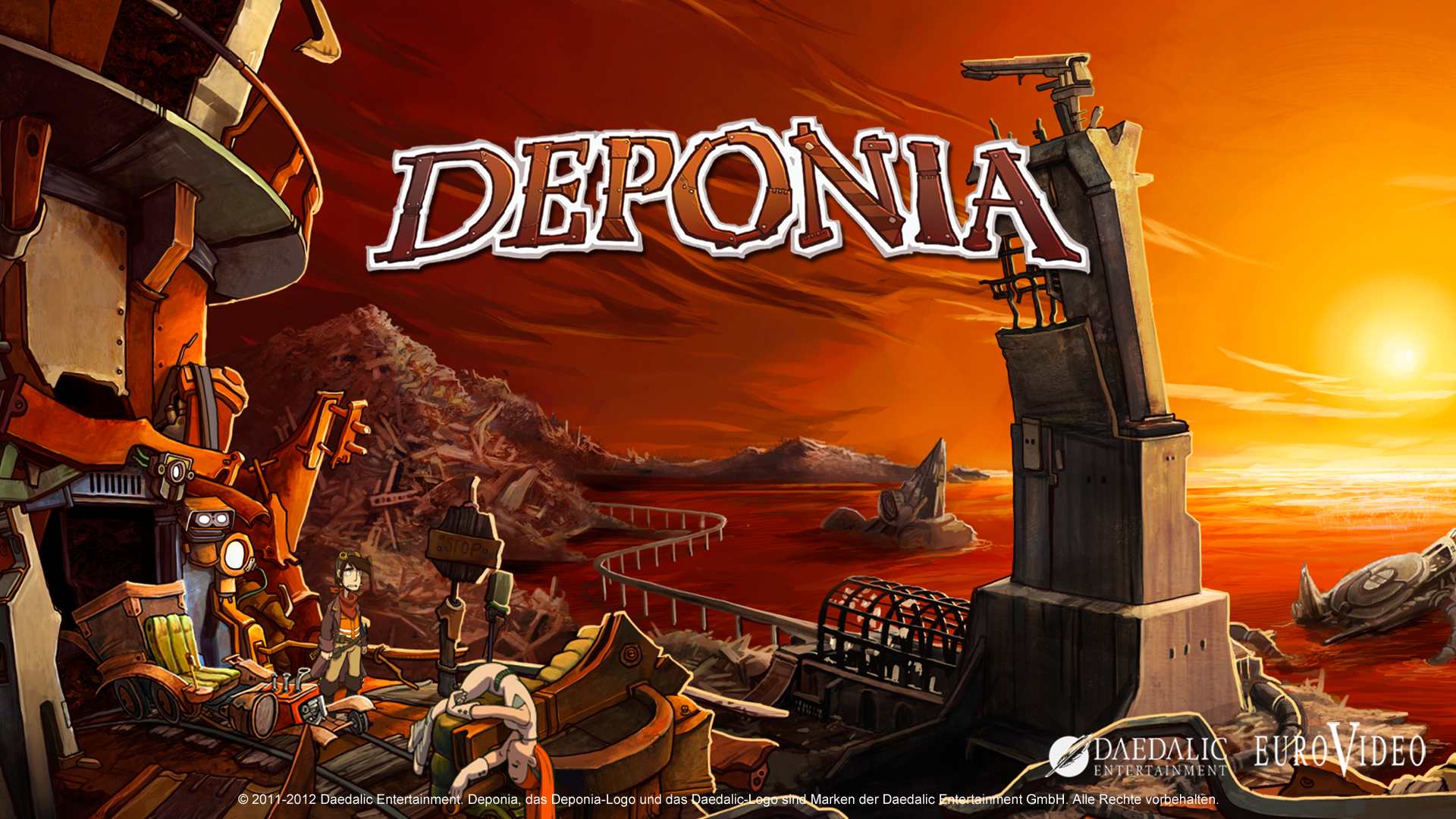 Deponia available on Steam