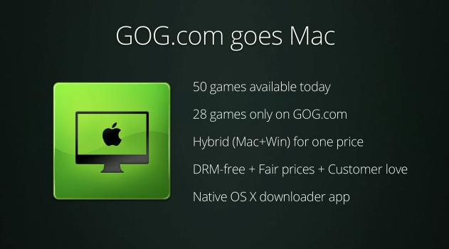 Gog Goes Mac