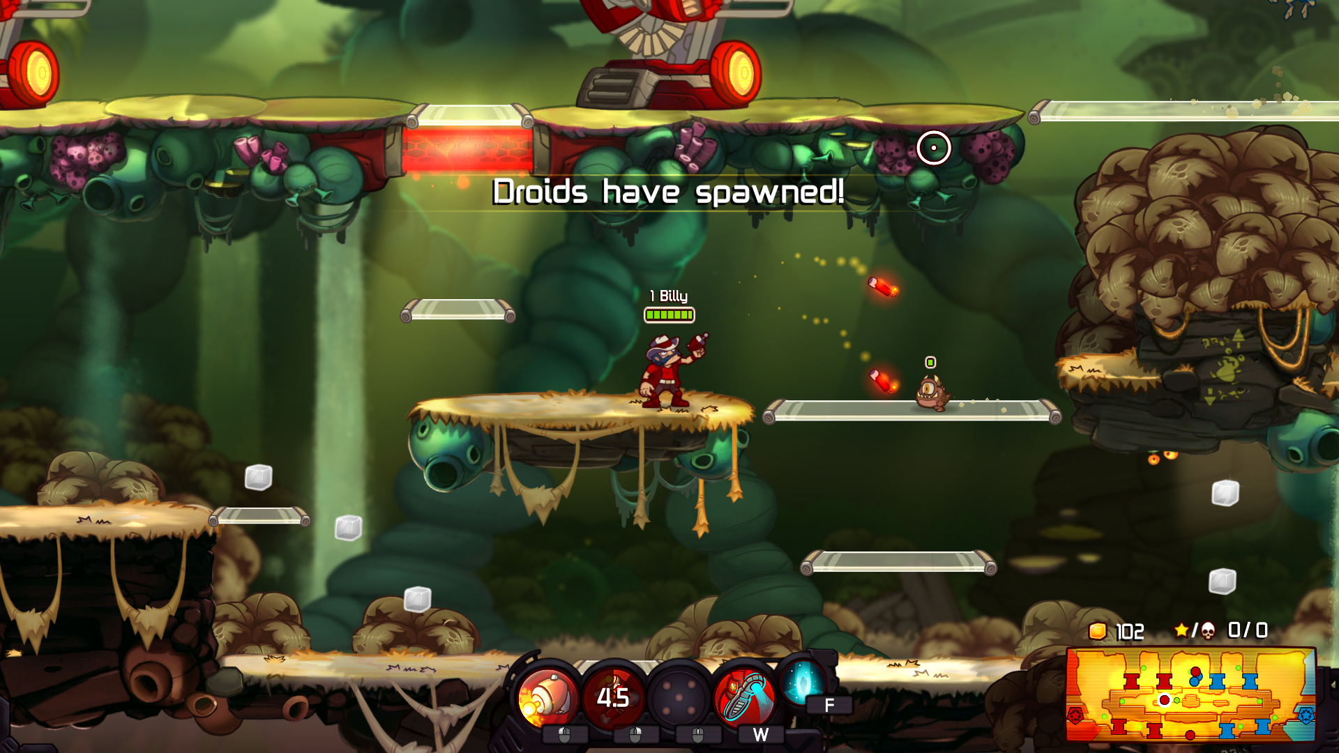Awesomenauts now available