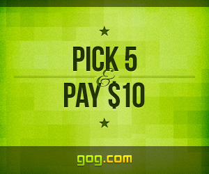 Gog's Pick 5, Pay $10 Promo