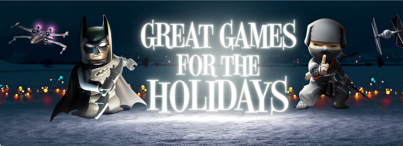 "Mac App Store ""Great Games for the Holidays"""