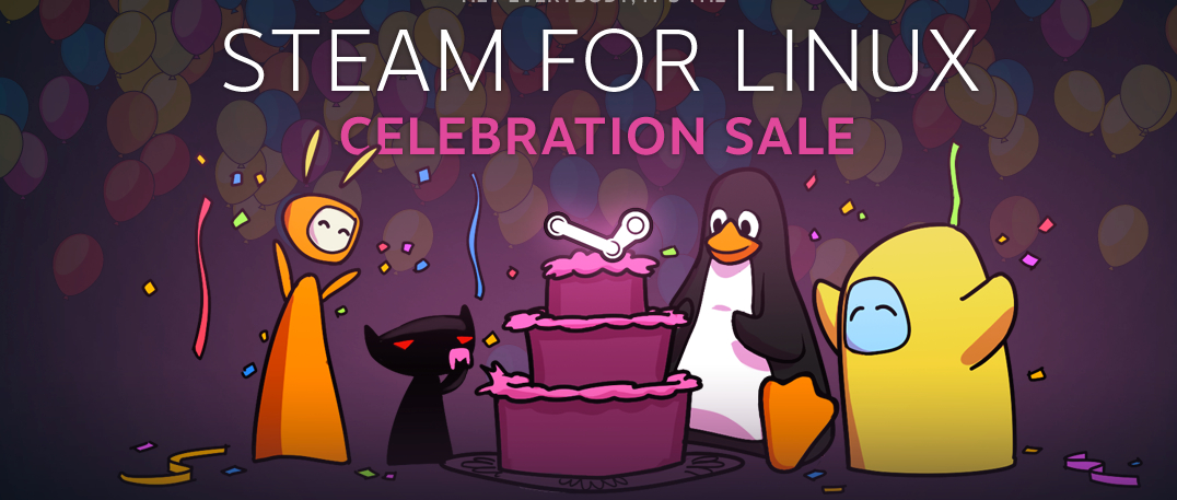 Steam's New Favourite: Linux Launch Sale