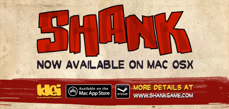 Shank 2 Arrives on Mac