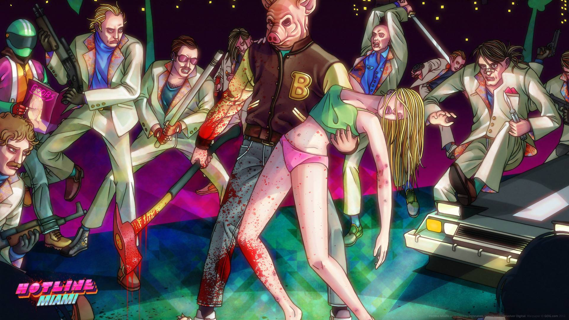 Let off some Steam with Hotline Miami