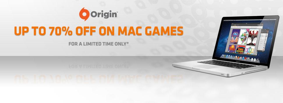 Origin is having a Mac Sale