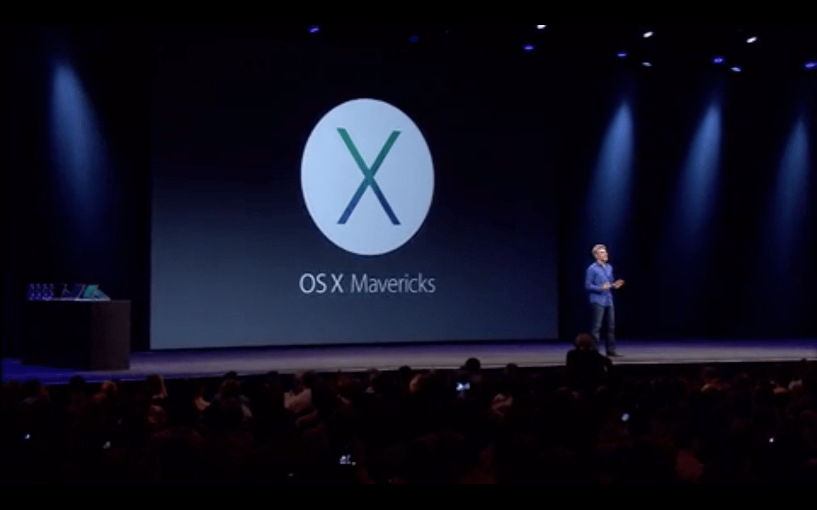 OS X Mavericks Announced