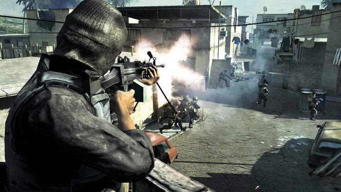 Call of Duty 4: Modern Warfare Breaches Steam