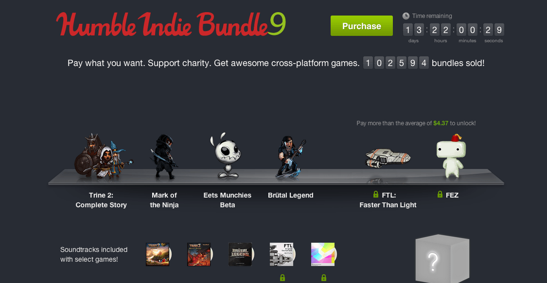 Humble Indie Bundle 9 Brings Fez and Mark of the Ninja to Mac