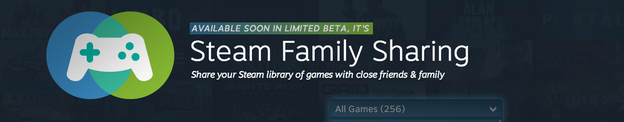Share your Steam Library