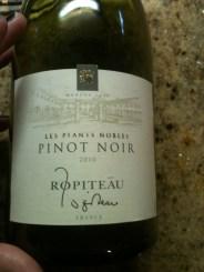 Ropiteau Pinot Noir 2010