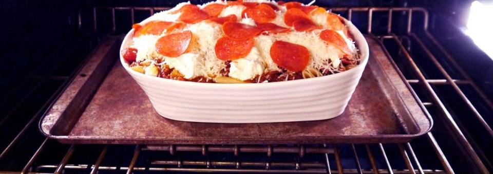 Pepperoni Baked Ziti