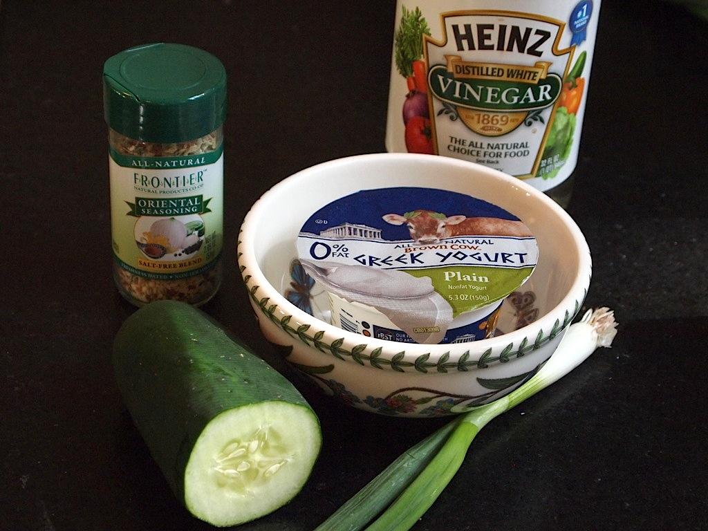 Tzatziki (Greek Cucumber-Yogurt Dip) - Cookbook Archaeology