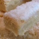 Vanilla shortbread biscuits