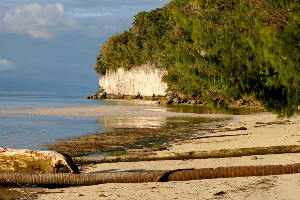 This is just one of the many fantastic beaches in Raja Ampat.