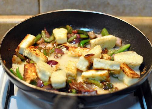 chilli paneer indo chinese recipe