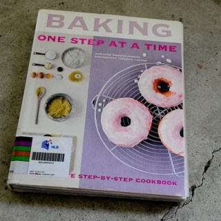 Cookbook Find: Baking (One Step at a Time) by Marianne Moreno