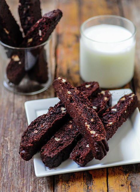 Double Chocolate Biscotti | Christmas Cookie Recipe