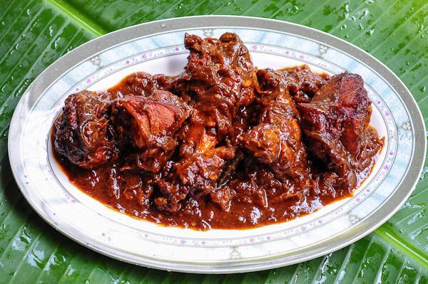Kerala Spicy Chicken Roast Recipe