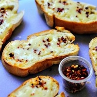 10-Min Cheese Garlic Bread Recipe, Quick Easy Snack