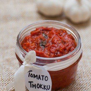 Tomato Thokku Recipe – Thakkali Thokku – Step by Step Recipe