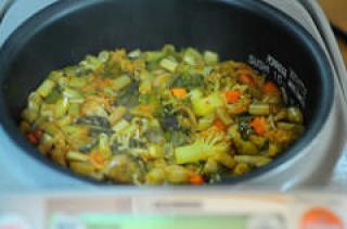 veg biryani recipe - rice cooker pressuer cooker veg biryani-5