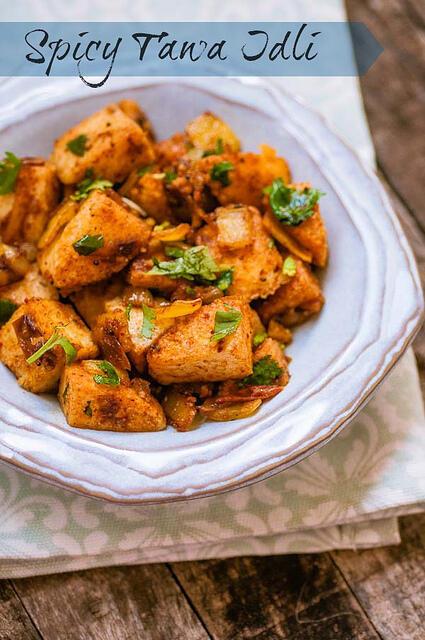 tawa idli recipe, how to make spicy tawa idli recipe