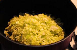 cabbage poriyal recipe-how to make cabbage poriyal-5