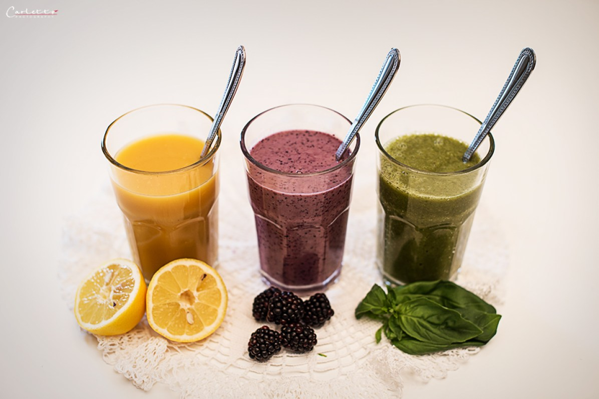 Smoothies 3erlei