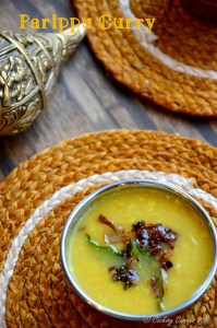 Parippu Curry | Pigeon Pea Lentils and Coconut