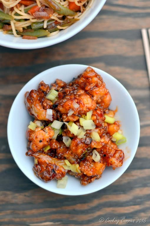 Better than Take Out General Tso's Cauliflower - Vegan, Gluten Free