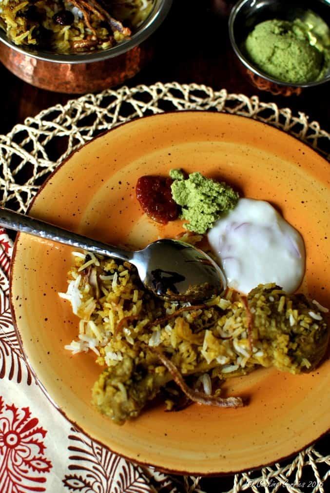 Kerala Style Chicken Biryani (6)