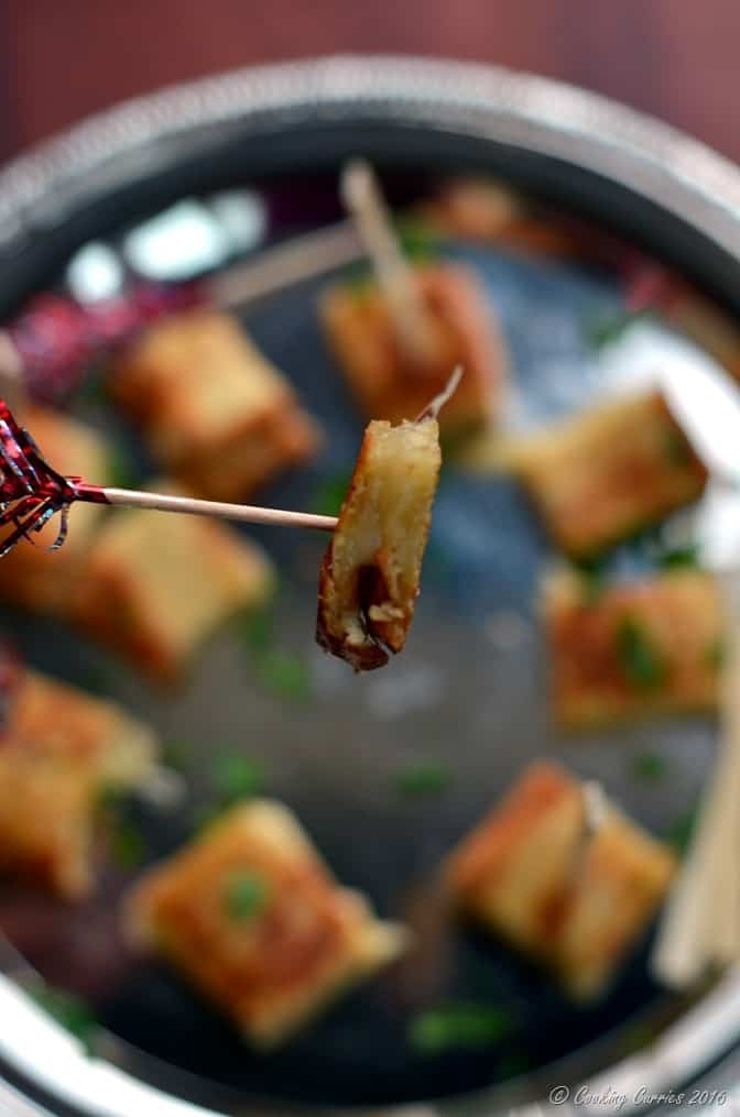 Truffle Grilled Cheese Sandwich Bites - Party Appetizer (5)
