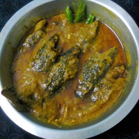 Koi Fish In Mustard Oil Sauce/Bengali Tel Koi (Climbing Perch)