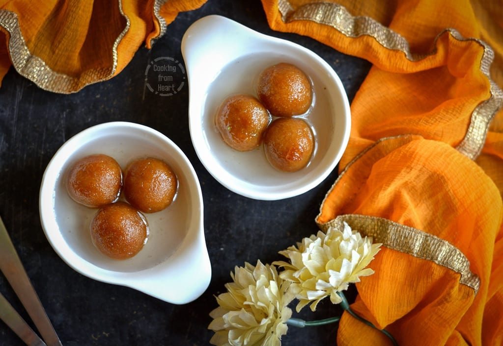 Bread Gulab Jamun   Instant Gulab Jamun   Diwali Special Recipes
