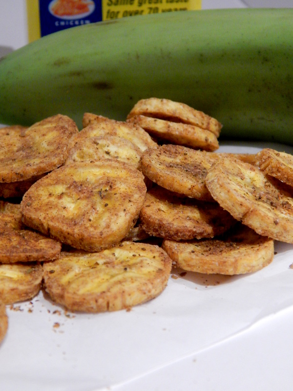 Old Bay Plantain Chips