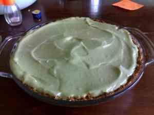 avocado cheese cake