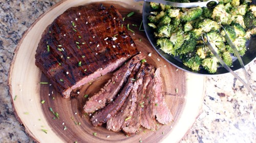 Medium Of Flank Steak Oven