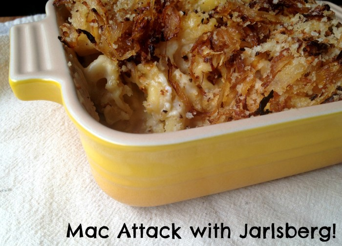 Truffled French Onion Mac and Cheese | Cooking with Books