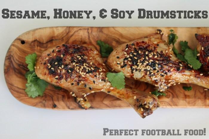 Sesame Soy Drumsticks
