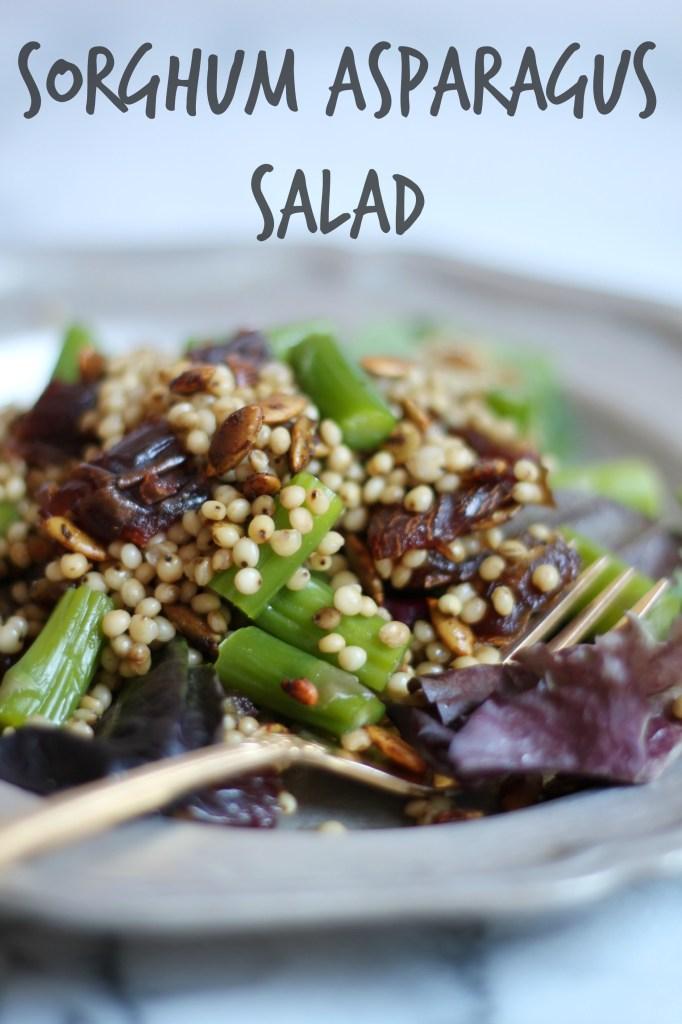 Sorghum Asparagus Salad